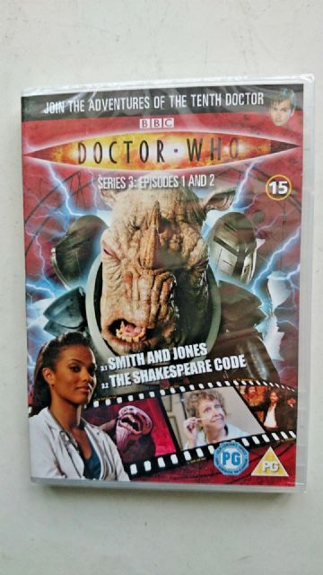 Doctor Who Series 3 Episodes 1 & 2  DVD David Tennant - NEW and SEALED